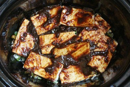 Slow Cooker Tofu