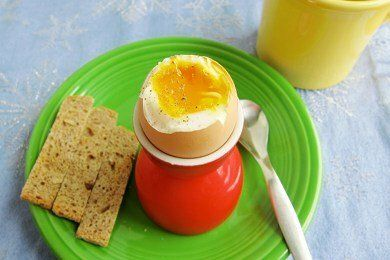Soft Boiled Egg Breakfast