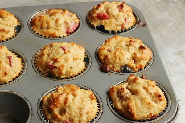 Strawberry Oatmeal Muffins Recipe: Can't Go Wrong