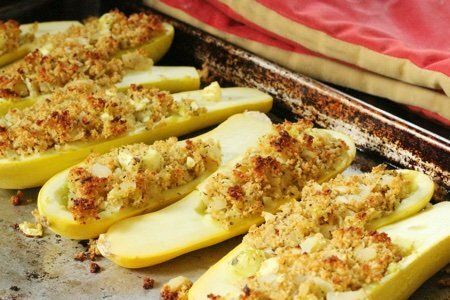 Stuffed Yellow Squash Recipe