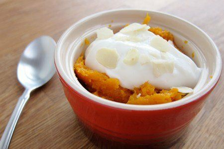 Sweet Potato and Yogurt