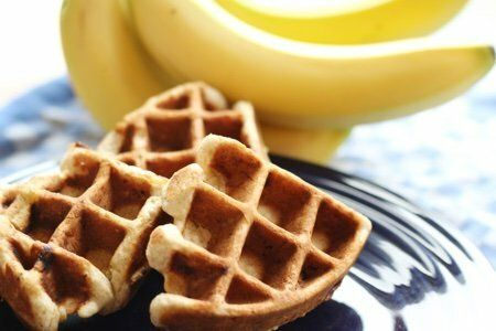 waffle iron banana bread
