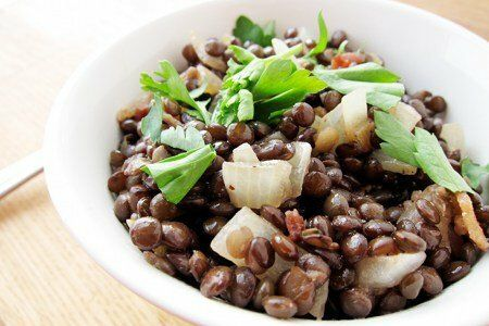 Bacon Lentil Salad