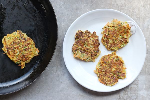 Zucchini Burgers: A Late Summer Treat